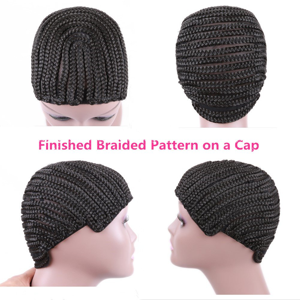 Amazon.com: Braided Weave Cap with Adjustable Strap and Combs ...