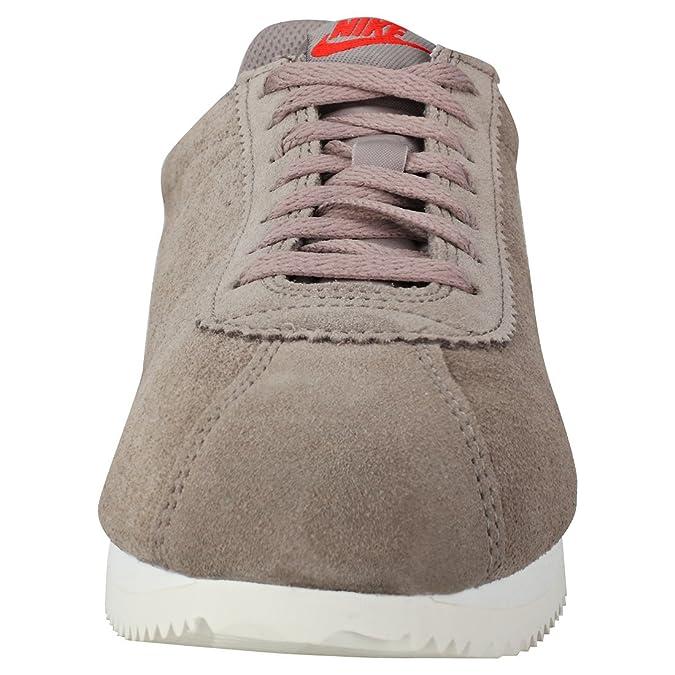 the best attitude 215de cb332 Zapatilla Nike - Classic Cortez Suede Sepia Stone Hombre 42,5  Amazon.es   Zapatos y complementos