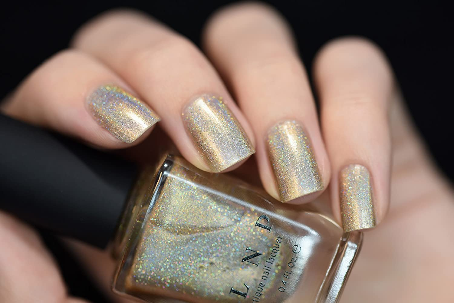 Amazon.com : ILNP I See You - Delicate Champagne Holographic Nail ...