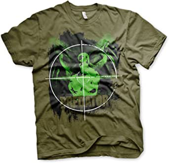 Officially Licensed Predator Crosshair Mens T-Shirt (Olive)