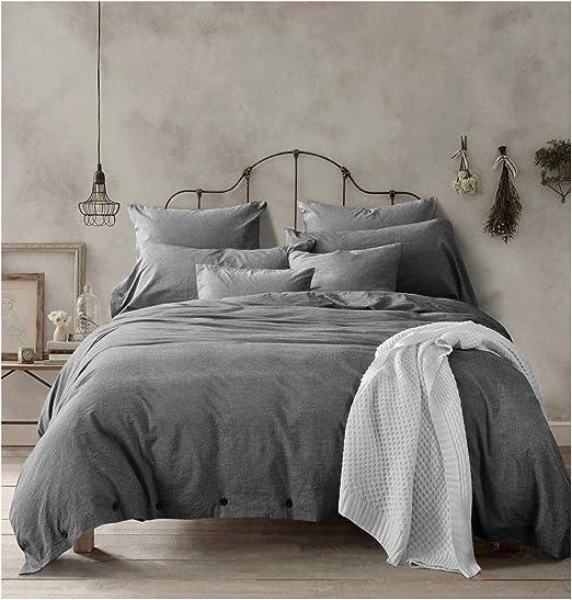 Amazon Com Doffapd Duvet Cover Queen Washed Cotton Duvet Cover