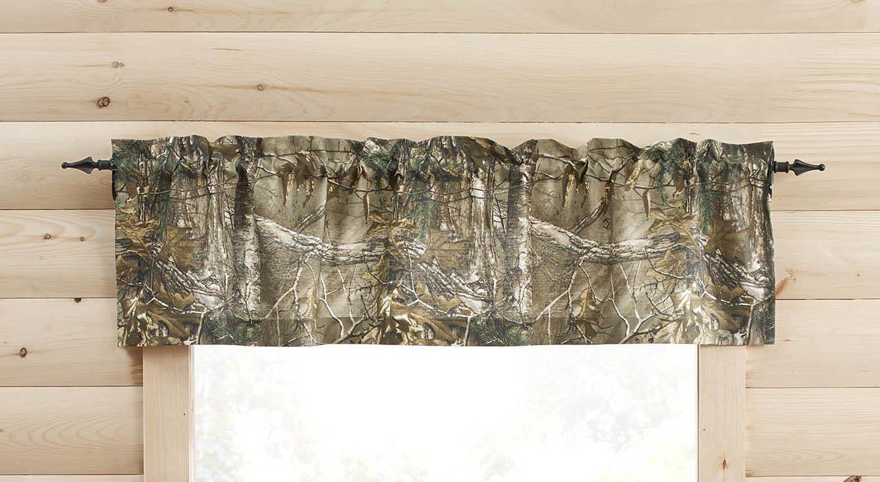 Realtree AP Valance, 14-Inch Long 1888 Mills VL94913PKRT