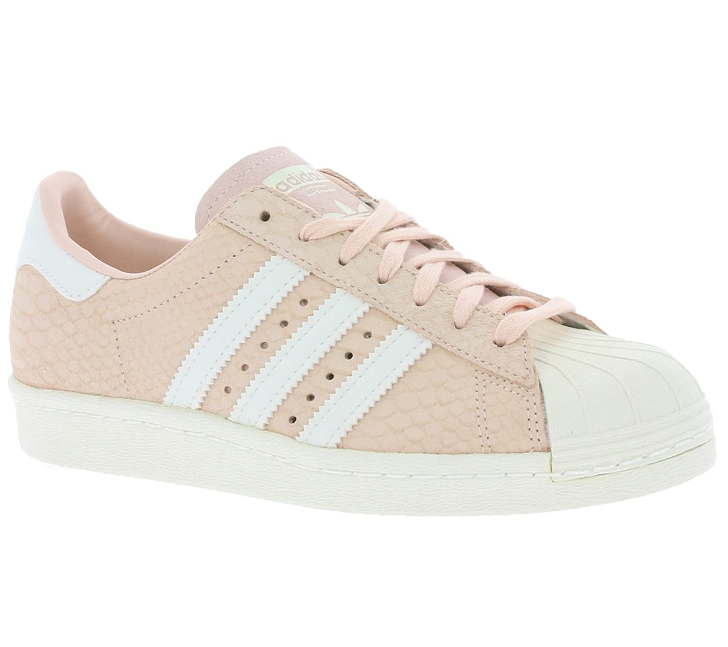 available wholesale price classic style Adidas Originals Superstar 80s Pink Womens Trainers (UK 6.5 ...