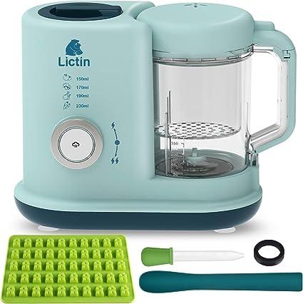 Lictin Robot de Cocina Bebé- 4 en 1 Procesador de Alimentos Bebes ...