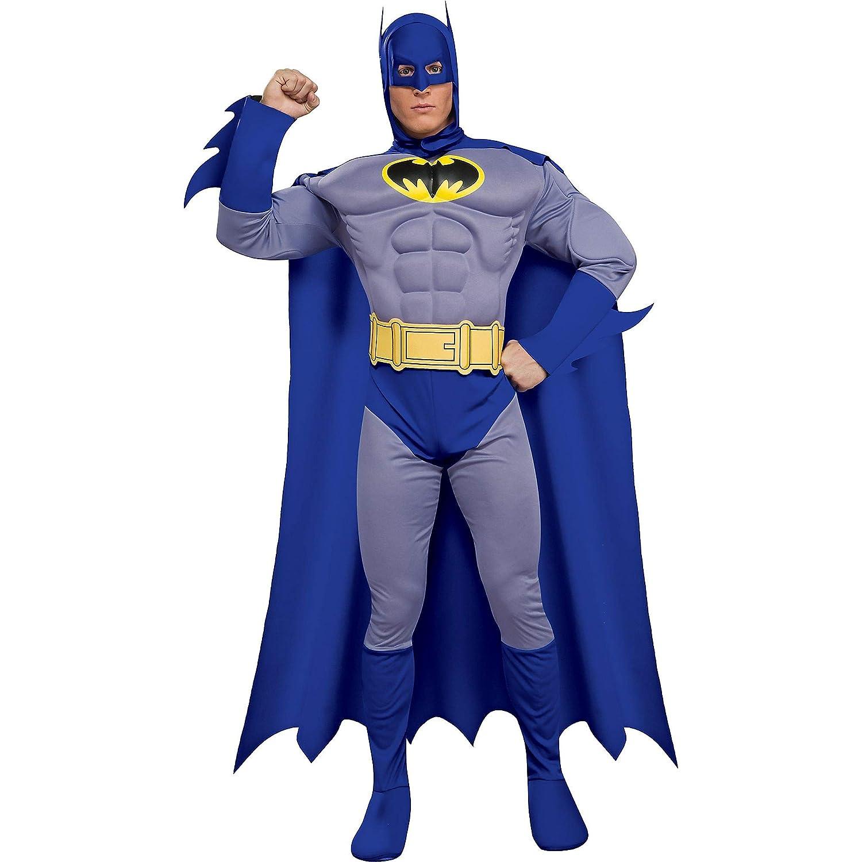 Desconocido Disfraz de Batman musculoso para hombre: Amazon ...