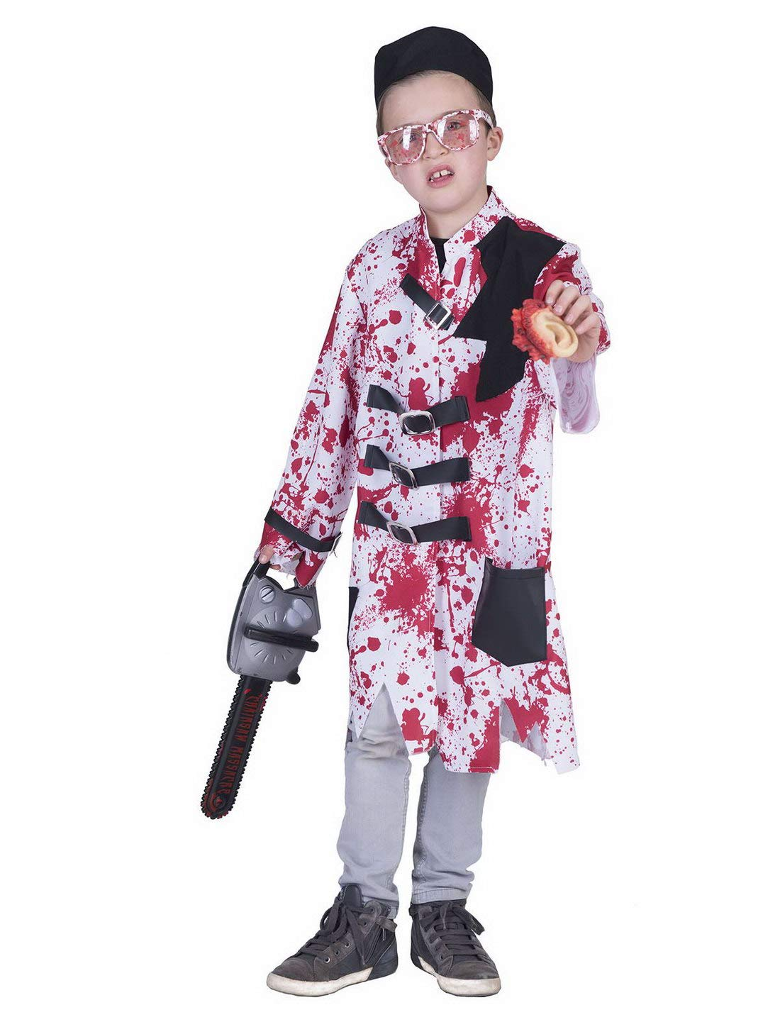 karnevals Bud – Disfraz Infantil, blutige Horror Chaqueta con ...