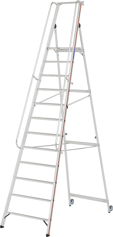 HYMER 808112 - Escalera de tijera: Amazon.es: Bricolaje y herramientas