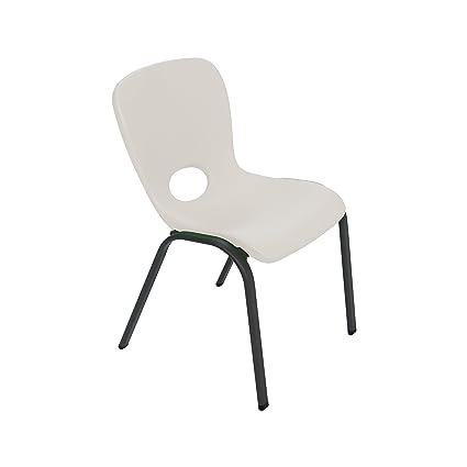 Charmant Lifetime 80383 Kids Stacking Chair, Almond