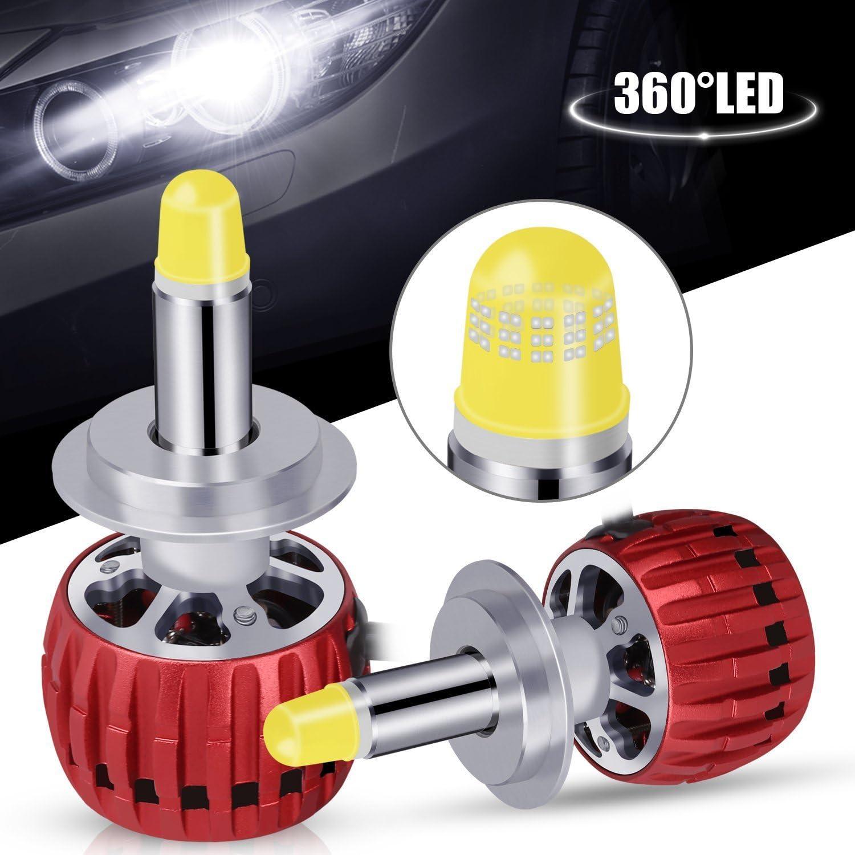 Super Bright 3D LED Headlight Kit Pair LED Light Beam Cree Bulb 60W 6000LM 6K Cool White CREE 3-Year Warranty Premium Quality Fast Shipping 9005