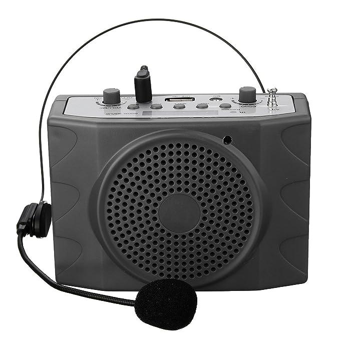 8 opinioni per mini Amplificatore di Voce,ELEGIANT Amplificatore di Voce da Cintura Portatile