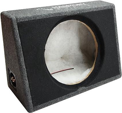Harmony Audio HA-ET112 Single 12 Empty Sealed Truck Sub Box Unloaded Enclosure