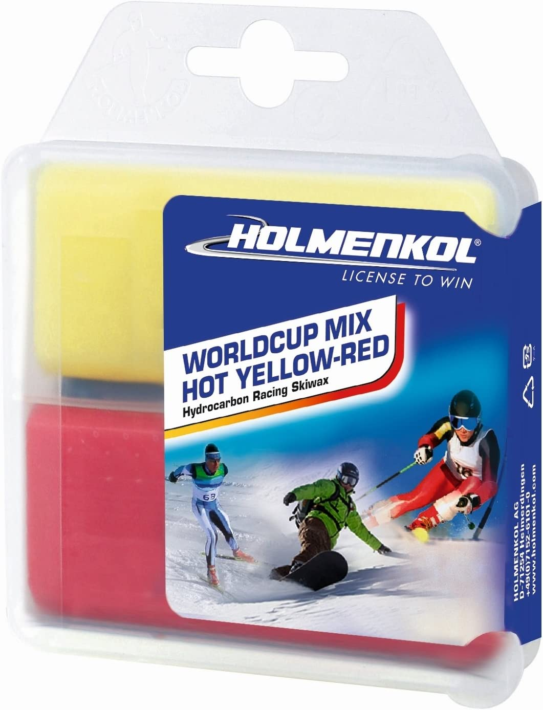 Holmenkol Skiwax Set Skiwachs Worldcup Ski Snowboard Wachs Pflege 7teilig