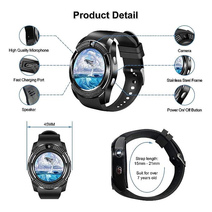 Reloj Inteligente SN08: Amazon.es: Electrónica