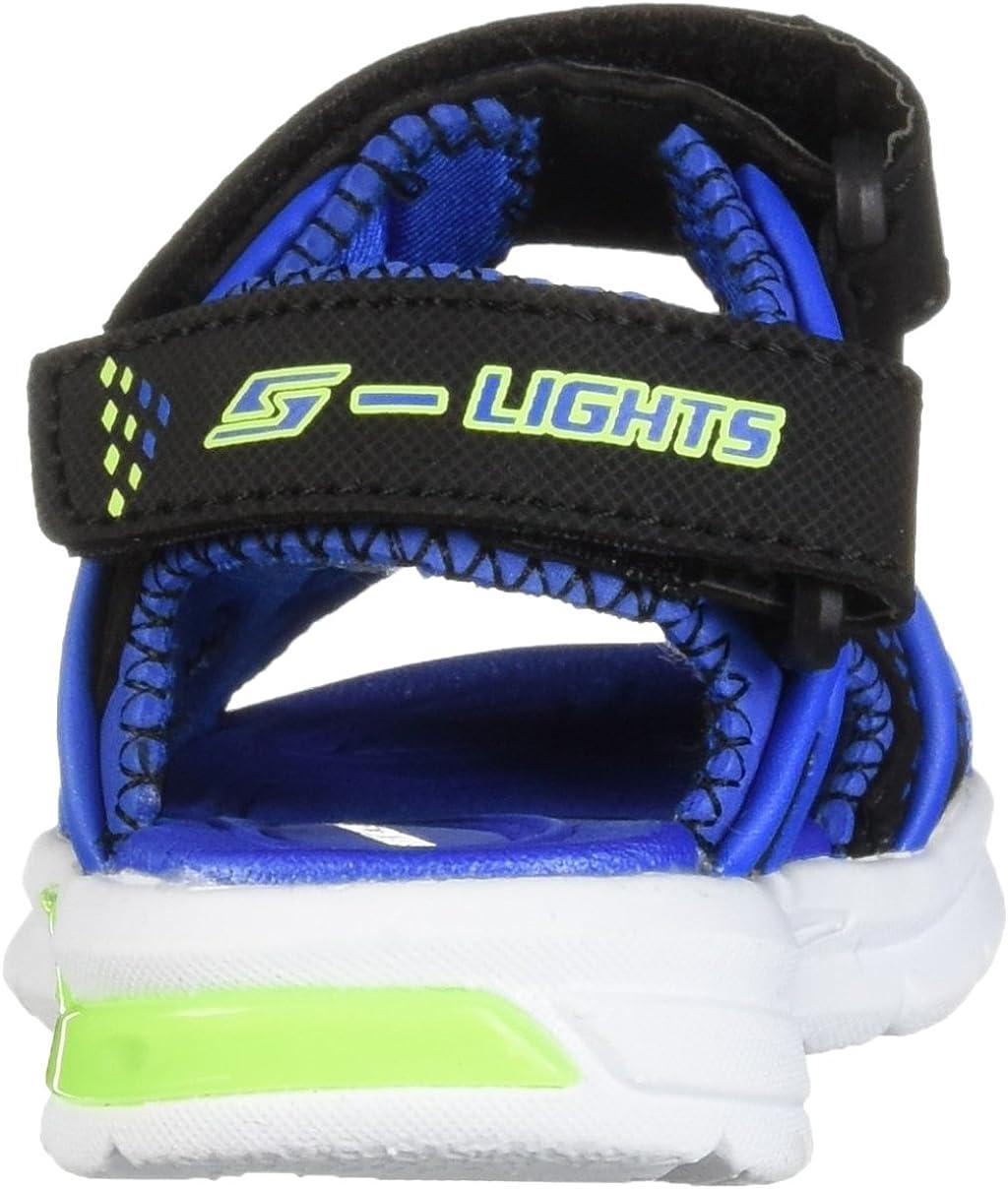 Skechers E-II Sandales Plateforme b/éb/é gar/çon