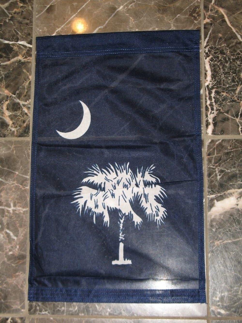 Amazon Com Aes 12x18 Blue South Carolina Sc Vertical House Sleeved Garden Flag 12 X18 Banner Garden Outdoor