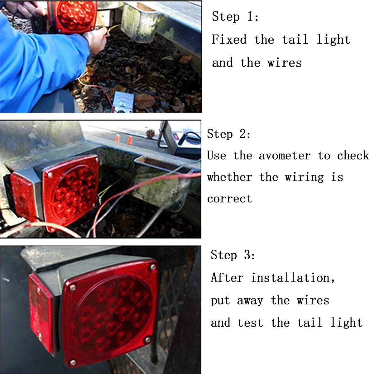 Magnificent Fixing Trailer Lights Gift - Best Images for wiring ...