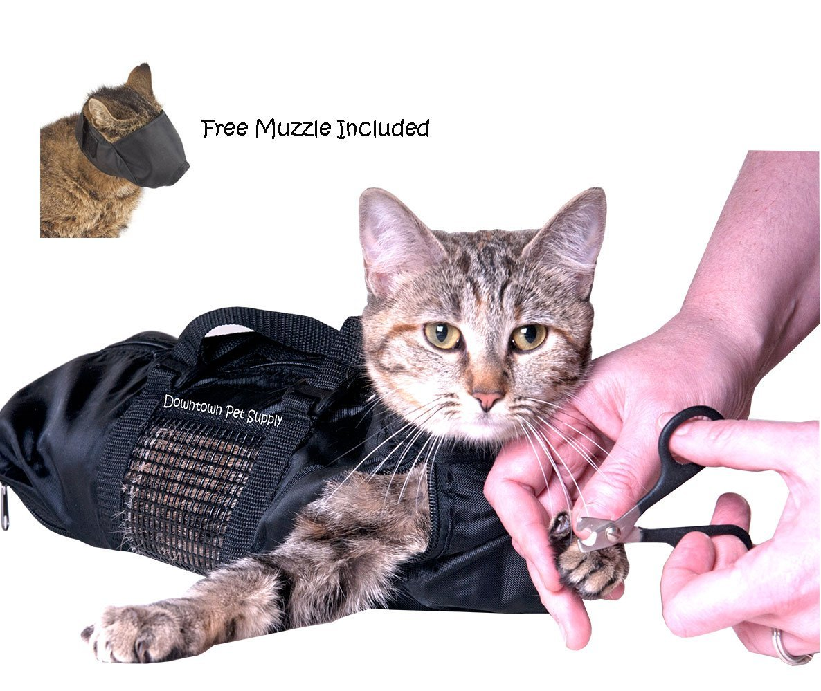 Amazon Cat Grooming Bag SMALL cat restraint bag FREE