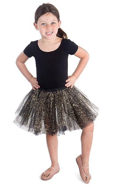 Steampunk Kids Costumes | Girl, Boy, Baby, Toddler Girls Princess Layered Dress-Up Tulle Tutu Skirt w/ Sparkling Sequins $9.99 AT vintagedancer.com