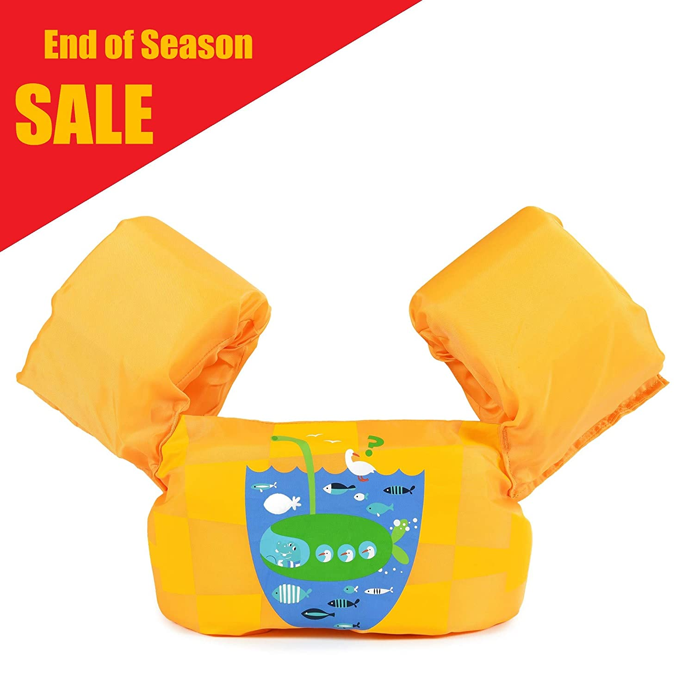 Siran Toddler Life Jacket Baby Swim Float Kids Swim Life Vest/Kids Swimming Floats Vest for Kids-Flotation Device 30-50 lbs