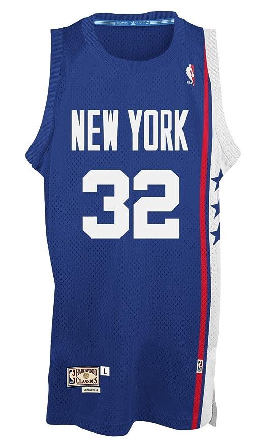 5a4124e07 Amazon.com   adidas Julius Erving New York Nets NBA Throwback Swingman  Jersey - Blue   Sports   Outdoors