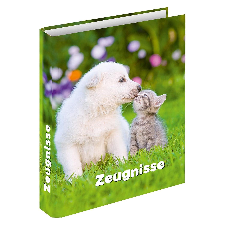 "Zeugnisringbuch /""Hund /& Katze/"" für DIN A4"
