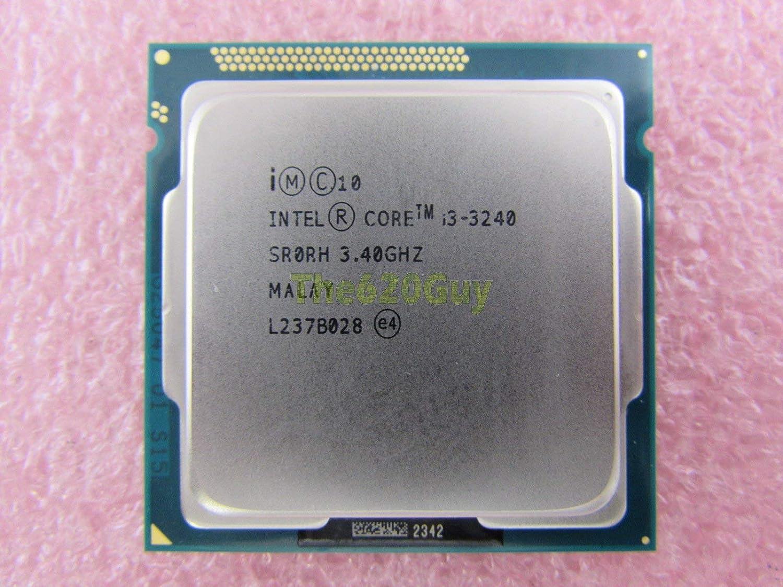 Intel Core i3-3240 SR0RH Dual-Core 3.40GHz LGA1155 Desktop CPU Processor