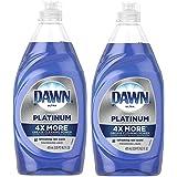Dawn Platinum Dishwashing Liquid Soap, Refreshing Rain, 16.2 Oz (Pack of 2)
