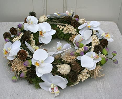 Unbekannt corona dell avvento di natale corona corona orchidee