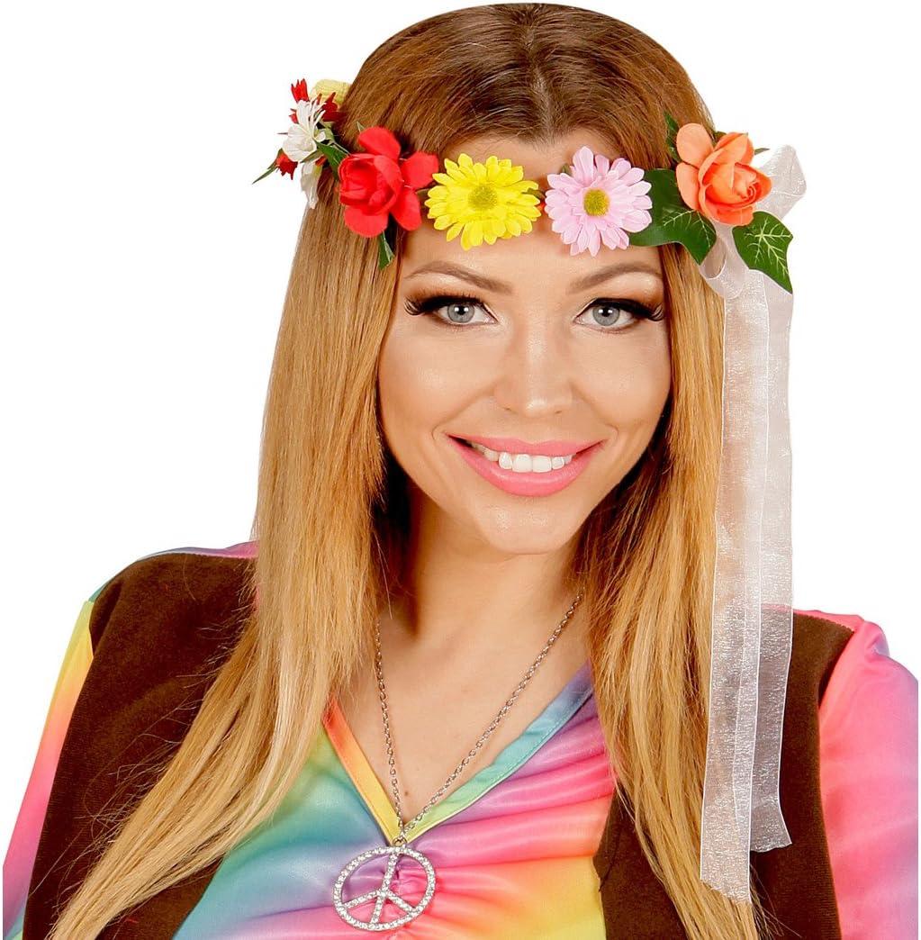 Amakando Bisutería Pelo Estilo Hippie Adorno Cabello con Flores ...