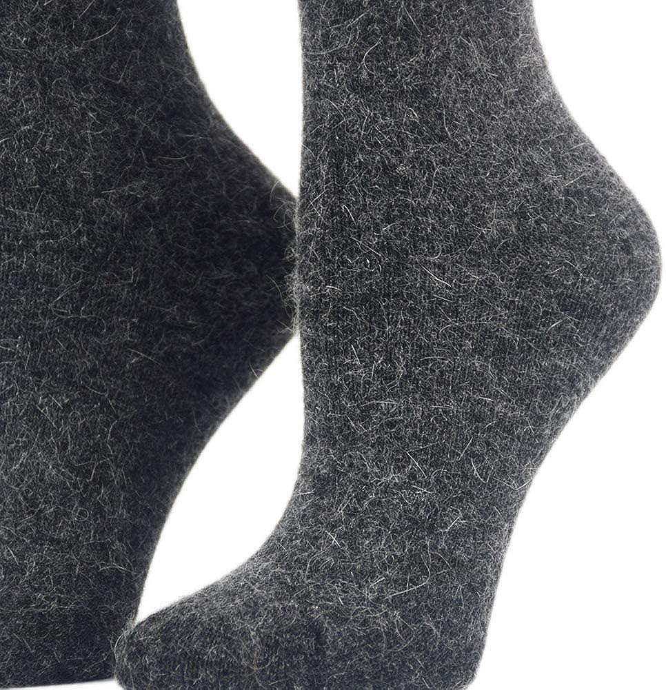 ZZIYEETTM 4 Pairs Thick Wool Socks Women and Girls Winter Warm Wool Socks