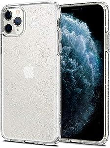 Spigen Liquid Crystal Glitter Designed for iPhone 11 Pro Max Case (2019) - Crystal Quartz