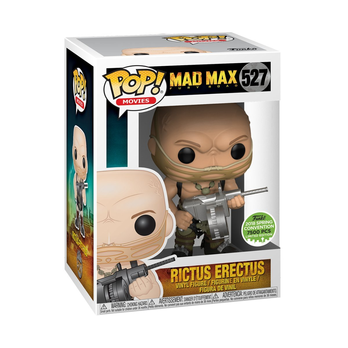Rictus Erectus Funko POP Movies: Mad Max Fury Road 2018 Spring Convention 7500 PCS Limited Edition