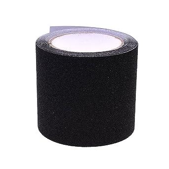 ueetek cinta de seguridad sin soldadura PVC de polvo Negro de 10 m ...