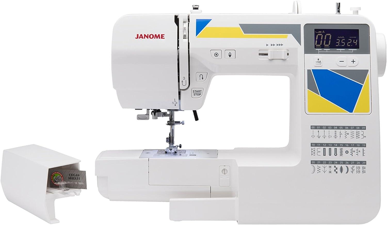 Janome MOD-30 máquina de Coser computarizada con 30 Puntos ...