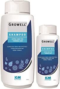 Growell Shampoo Extra care for thinning hair Value pack, 500ml + 200ml