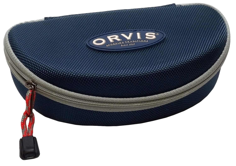 Orvis Semi-Hard Zippered Sunglass Case in Blue