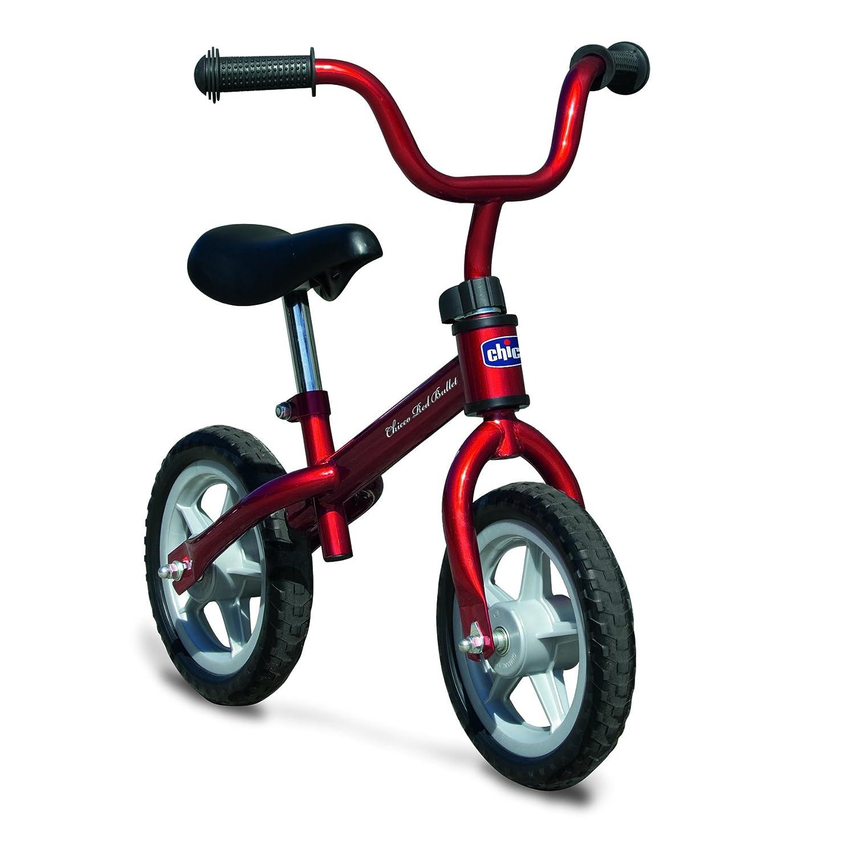 Chicco Red Bullet Balance Bike Set