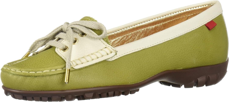 MARC JOSEPH NEW YORK Women's Leather Made in Brazil Liberty Golf Shoe