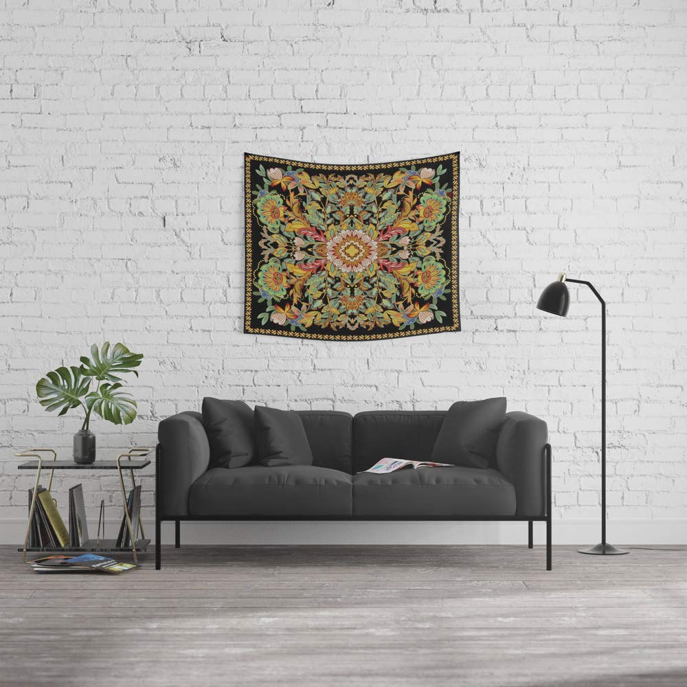 Society6 Wall Tapestry, Size Small: 51'' x 60'', Dance Between Fire Now! by aquavella