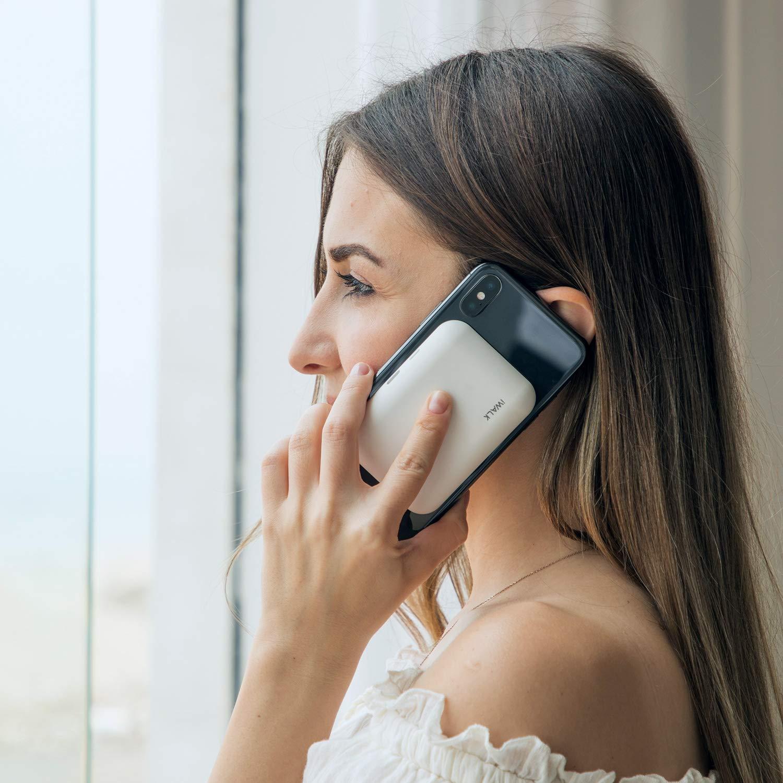 Nexus X Note 9 S9 8 S8+ S9+ Samsung Galaxy S10 Blanco S10+ HTC y m/ás 8 Plus iWALK bateria Externa inalambrica,3000mAh Cargador inalambrico Universal Compatible con iPhone XS XR S8