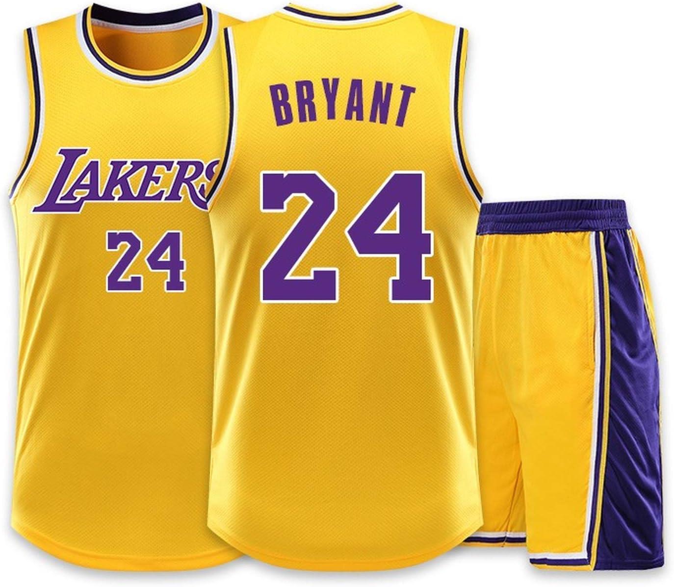 Kids Boys Girls Mens Basketball Jersey,NBA Kobe Bryant #24 Los ...