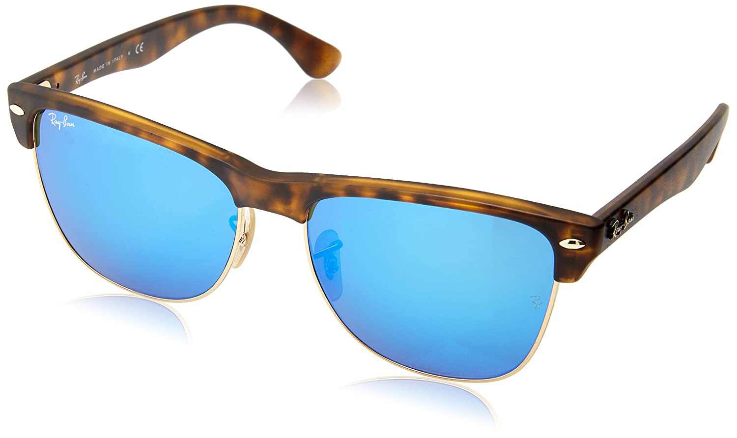 59069b8a58 Ray-Ban Men s CLUBMASTER Oversized Square