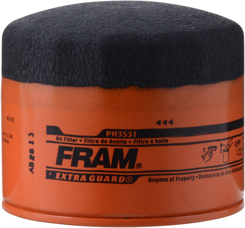 FRAM PH3531 Extra Guard Passenger Car Spin-On Oil Filter FFPH3531