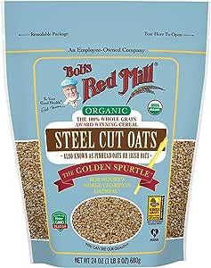 Bob's Red Mill Organic Steel Cut Oats, 680 gm