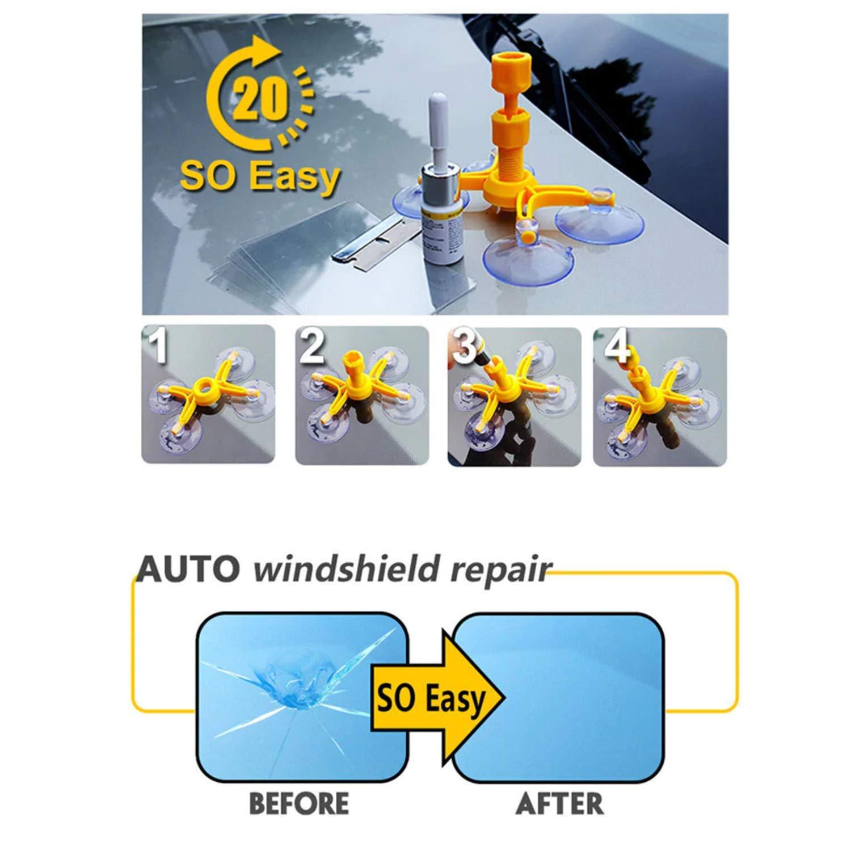 Dragon Honor Glass Corrector Set Glass Window Repair Tool
