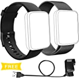 Lintelek Replacement Band Sets for H19 Smart Watch, 2 Packs
