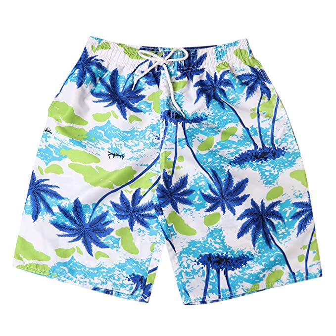 d4b685385c Image Unavailable. Image not available for. Color: Men's Quick Dry  Drawstring Waist Swim Trunks ...