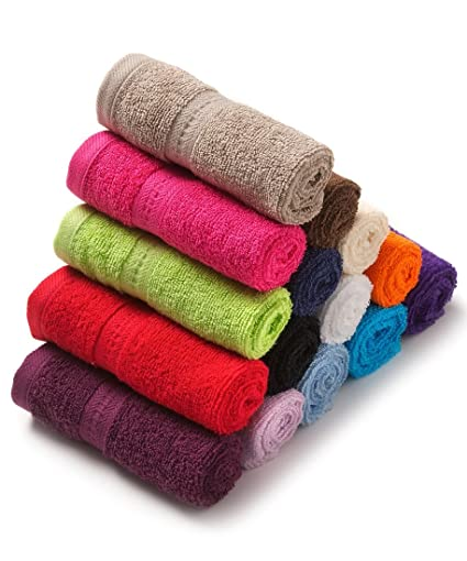 Shop By Room Soft Cotton Kitchen Towel Set of 5 - Assorted Color (20 Inch X 12 Inch)
