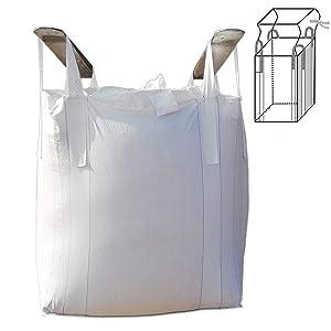 Secbolt FIBC Bulk Bag, 1 One Ton Bag, 35