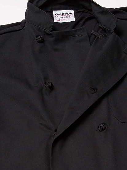 Black XS-6X 0429 Uncommon Threads Montego Short Sleeve chef coat